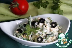 Яичный салат со стручковой фасолью домашний рецепт приготовления с фото как готовить