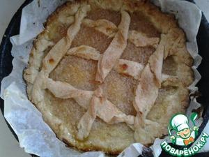 Рецепт Песочный лимонный пирог