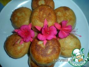 Рецепт Пирожки с помидорами и творогом