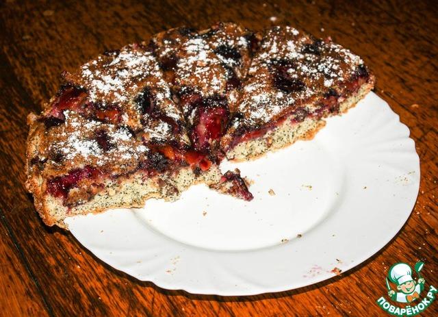 Сливовый пирог перевертыш рецепт 13