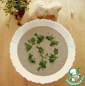 Рецепт Картофельно-грибной крем-суп