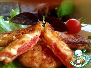 Рецепт Помидоры, жареные в сырном кляре