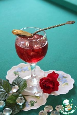 Рецепт Варенье из малины и дыни (с лимоном и лаймом)