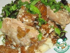 Рецепт Курица с лисичками