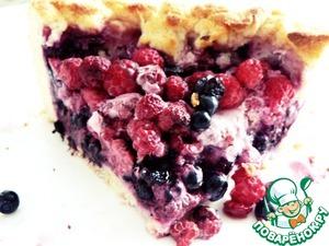 Рецепт Дрожжевой пирог с лесными ягодами