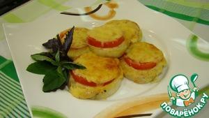 Рецепт Баклажаны с сыром и помидорами