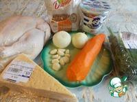 Курица фаршированная гречкой ингредиенты
