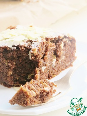 Рецепт Шоколадный кекс с кабачком