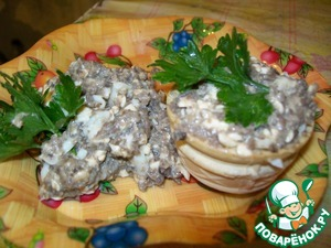 Рецепт Паштет грибной