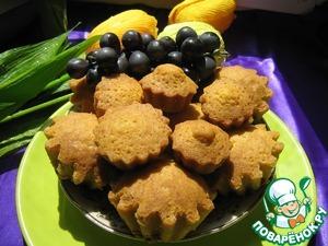 Рецепт Кексики домашние с изюмом/орехами/смородиной (вариант)