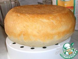 Рецепт Домашний белый хлеб в мультиварке