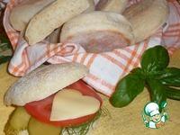 """Хлебные булочки """"Английские мафины"""" ингредиенты"""