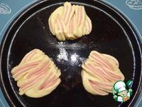 Булочки с колбасой ингредиенты