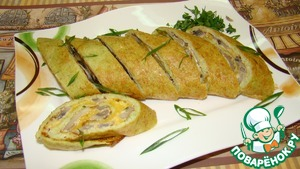Рецепт Рулет из кабачков