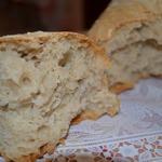 Домашний хлеб без замеса на закваске