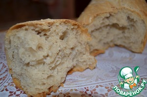 Рецепт Домашний хлеб без замеса на закваске
