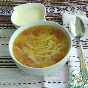 Рецепт Молдавская зама (зяма)