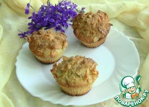 Рецепт Маффины с лимоном и миндальными лепестками
