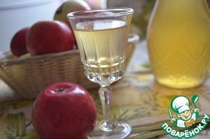 Рецепт Яблочная настойка