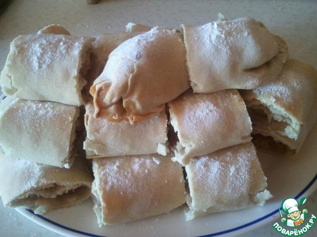 Вертута с яблоками рецепт с фото пошагово