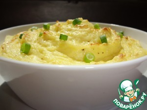 Рецепт Картофельное пюре со сливочным сыром и трюфелевым маслом