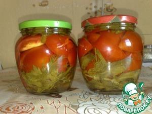 рецепт помидоры с мятой
