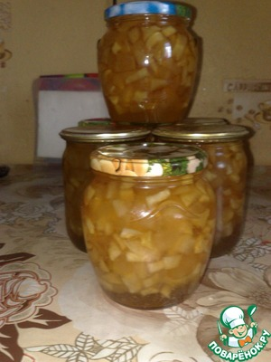 Рецепт Варенье яблочное по-болгарски