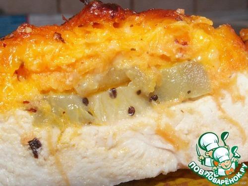 Куриные отбивные под морковной шубкой – кулинарный рецепт