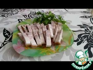 Рецепт Копченое сало в мультиварке