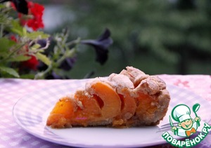 Рецепт Абрикосово-арахисовый пирог на полбовой муке