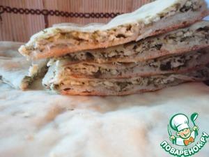 Рецепт Осетинские пироги с сыром и творогом