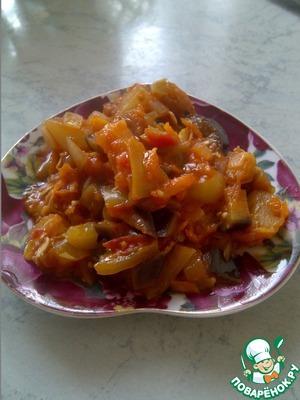 Рецепт Овощное рагу а-ля рататуй