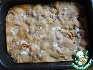 Рецепт Ржано-пшеничный пирог с яблоками