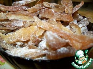 Рецепт Цукаты из груш