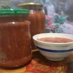 Кетчуп на зиму домашний