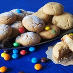 Хрустящее печенье с шоколадными драже