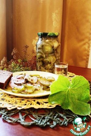 Рецепт Пряные огурцы (салат)