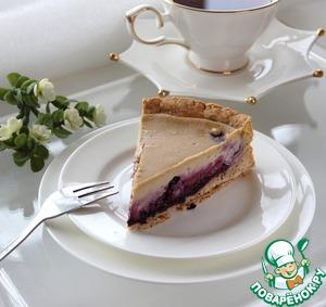 Рецепт Кофейно-черничный пирог