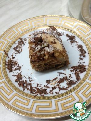 Рецепт Творожная запеканка с грушами