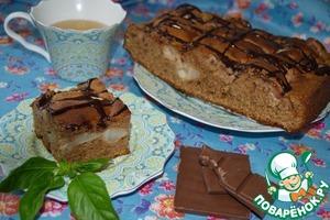 Рецепт Шоколадно-грушевый пирог