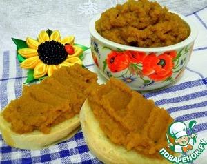 Рецепт Икра кабачково-баклажанная в хлебопечке