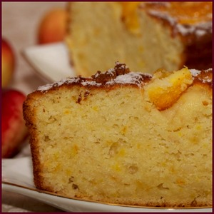 Рецепт Апельсиновый кекс на йогурте
