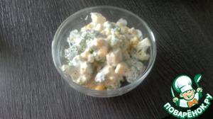 Рецепт Салат с сырой брокколи