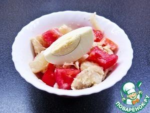 Готовим Салат из морского окуня рецепт с фотографиями пошагово