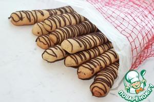 Рецепт Мандариново-ореховые палочки с шоколадом