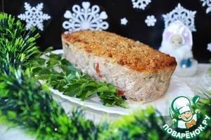 Рецепт Мясной хлеб с горчичной корочкой