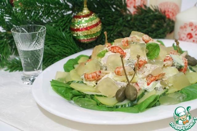 салат оливье по рецепту 1904 года