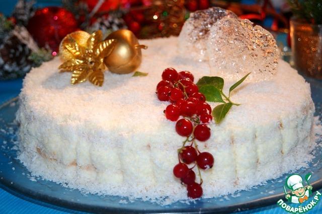 Торт снежный рецепт с фото