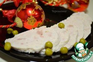 Рецепт Колбаска из индейки и курочки