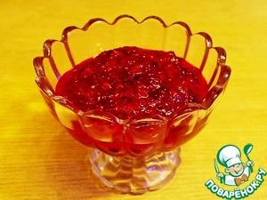 Рецепт Сырой джем из клюквы (relish)